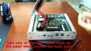 Teardown Guide- Fanless Mini PC FMP05B