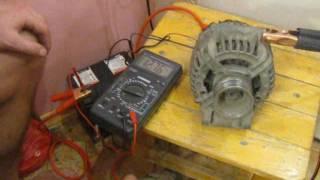 Стенд для проверки генератора за 5 мин
