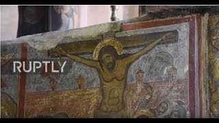 Father, son, and the holy SAUCER: Can this Byzantine fresco prove that UFOs exist?