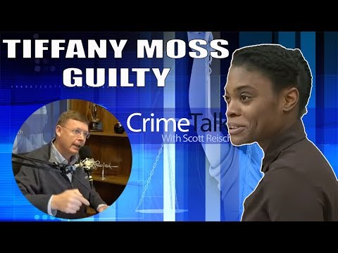 Tiffany Moss Found Guilty! Emotionless While The Jury Is In Tears, Let\'s Talk About It