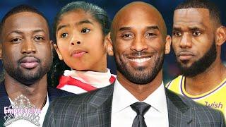 Kobe Bryant and his daughter Gianna pass away | Lebron James and Dwayne Wade react