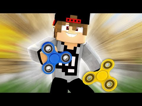 Minecraft: FIDGET SPINNER MOD no MINECRAFT!!