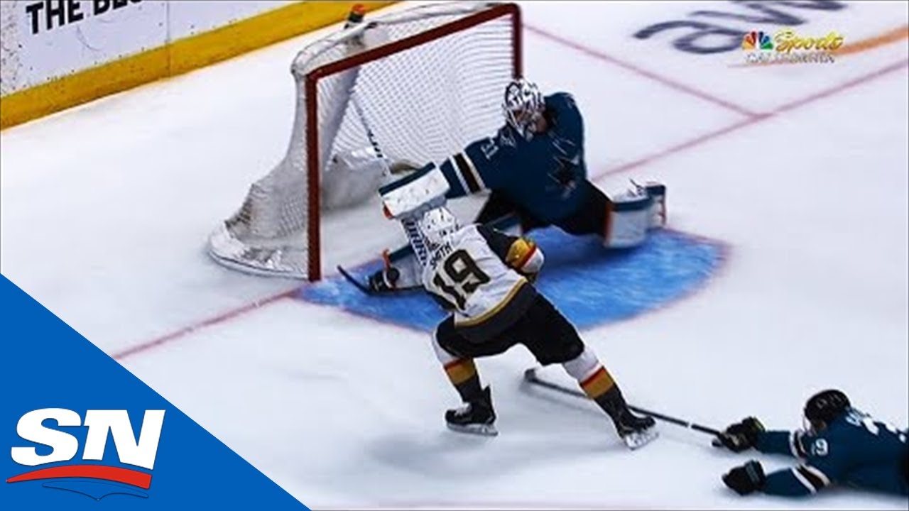 Martin Jones Makes Game-Saving Pad Save On Reilly Smith