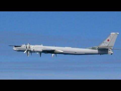Corea del sur lanzó cientos de disparos de advertencia contra un avión de Rusia
