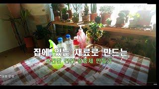 [베란다가든]집에 있는 재료로 만드는 초간단 천연 살충…