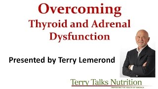 Overcoming Thyroid and Adrenal Dysfunction with Natural Remedies by Terry Lemerond - 11/4/2015