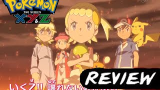Pokemon XY and Z Anime Review: Episode 1 What lurk in Kalos