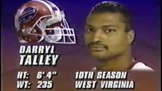 Buffalo Bills vs Miami Dolphins 1992 AFCCG