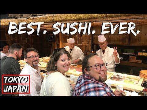 Best Sushi In Tsukiji Fish Market! | Tokyo, Japan Travel Vlog