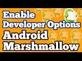 Enable Developer Options on Android 6.0 Marshmallow || Moto G