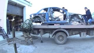 Replica Subaru WRC - Custom Cage - The level is passed.