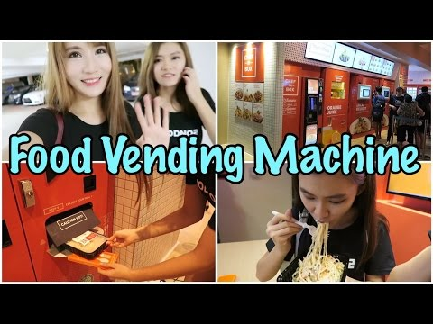 Chef in Box (VendCafe) - Singapore's First Food Vending Machine