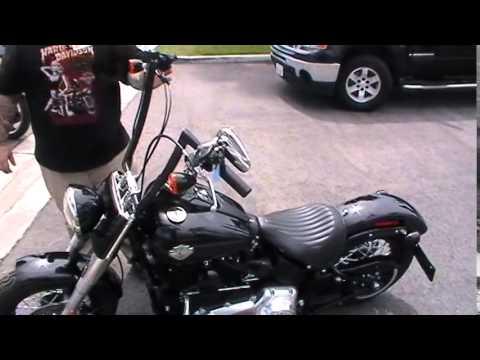 2014 Fls Harley Davidson Softail Slim Vivid Black