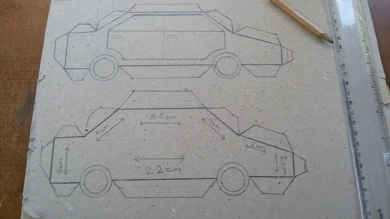 Maket Araba Yapımı How To Make A Car Youtube