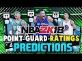 NBA 2K18 MyTEAM POINT GUARD PLAYER RATINGS PREDICTIONS! Ft. Westbrook & Curry | NBA 2K18 MyTEAM