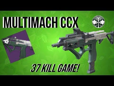 MULTIMACH CCX - IRON BANNER SMG - WARMIND DLC - DESTINY 2 thumbnail