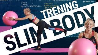 SLIM BODY - trening z dużą piłką | Wysmuklający, wzmacniający | #FITJESIEŃ
