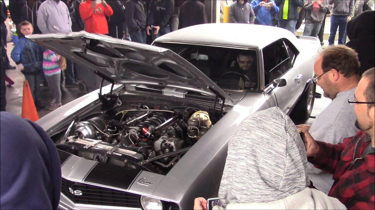 Turbo LS 1969 Camaro - Sloppy Mechanics Spring Dyno Day 2016 - YouTube