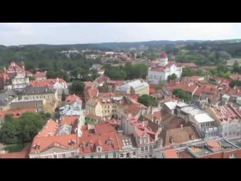 Street Scenes of Vilnius, Lithuania - The Most Exotic City of the Baltic States