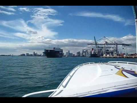 how to get to key west from miami by boat