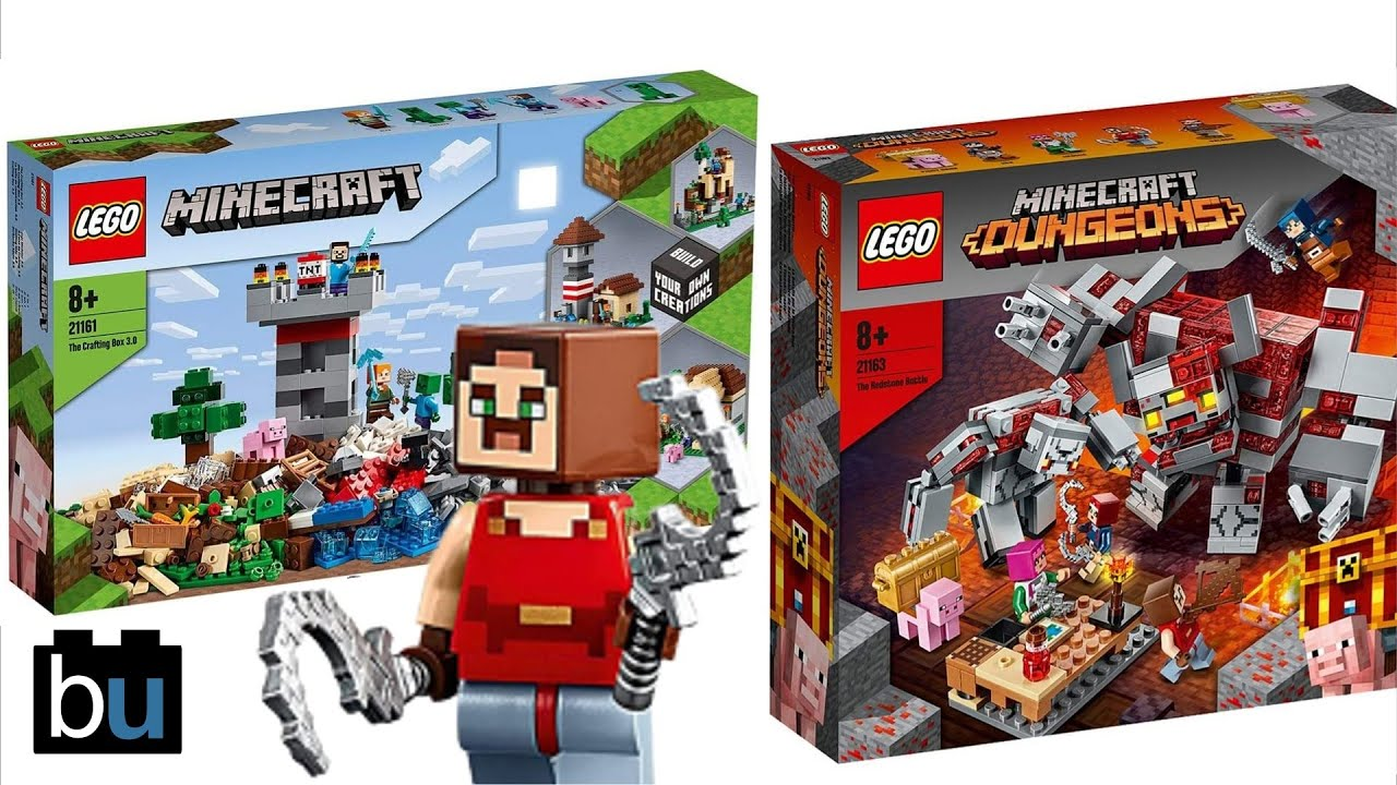 LEGO Minecraft Dungeons Sets Announced Summer 11