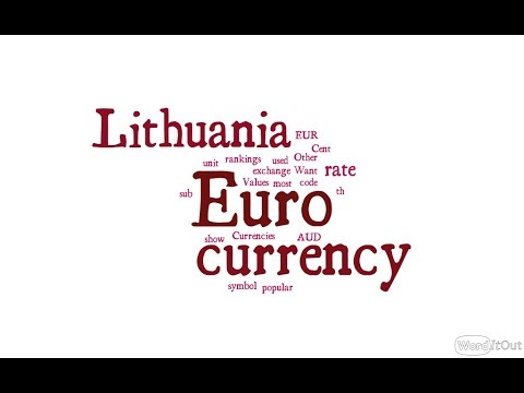 Lithuania Currency - Euro