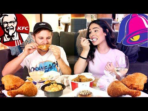 MUKBANG TACO BELL ET KFC | SPILLIN' THE TEA (avec Gabrielle Marion) | PL Cloutier