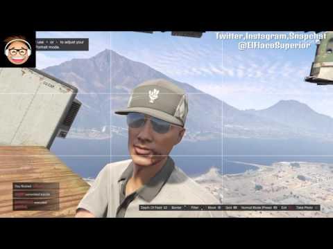 Grand Theft Auto V Deathmatch Extreme Sky PARKOUR