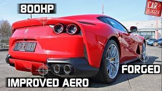 INSIDE the NEW Ferrari 812superfast 2018 | Interior Exterior DETAILS w/ REVS