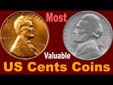 Most Valuable Lincoln & Jefferson US Cents Coins