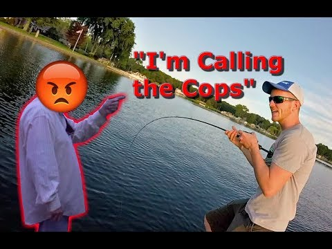 Harassed For Fishing A Tournament? (Crazy)