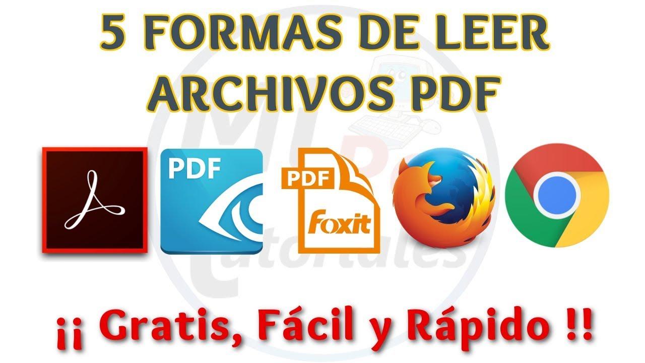 Programa Para Ver Archivos Pdf