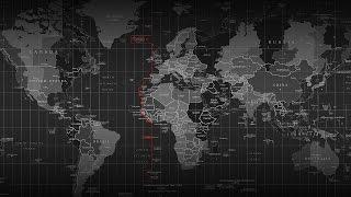 Большой коврик с картой мира для мыши на рабочий стол, Large Size World Map. Распаковка и обзор