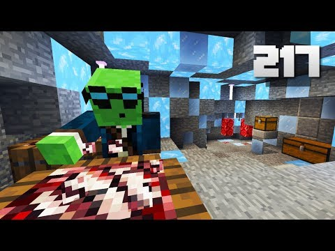 Let's Play Minecraft - Ep.217 : Freezer Cave!