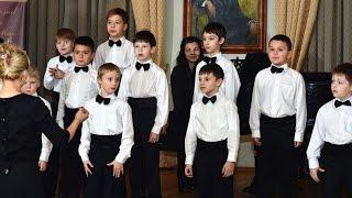 Хор мальчиков ''Возрождение''. Конкурс в Библиотеке Ивана Бунина. 05 декабря 2014 г.