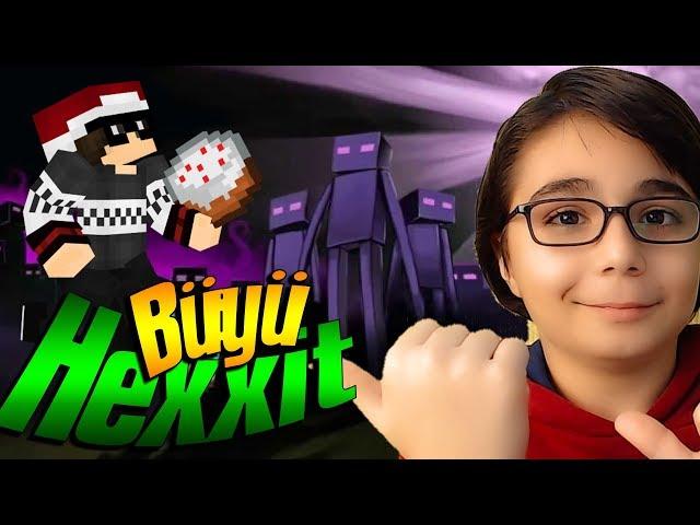 BÜYÜLER BASTIM Minecraft Hexxit