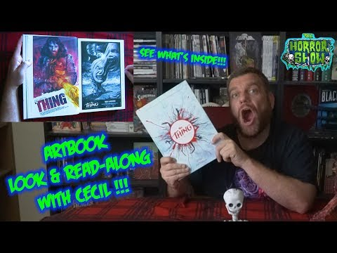 """The Thing"" Artbook Read-Along / Look-Along - The Horror Show"