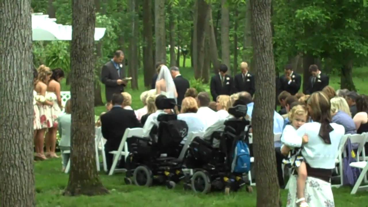 Wedding Ceremony Oak Hill Mansion Carmel Indiana Grapevine DJs