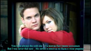 Cry by Mandy Moore (A walk to remember) with English and Russian subtitles