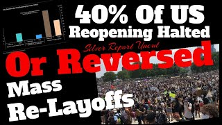 40% Of US Opening Halted Or Reversed, Mass Layoff's Accelerate For The 2nd Time, Restaurants Closed