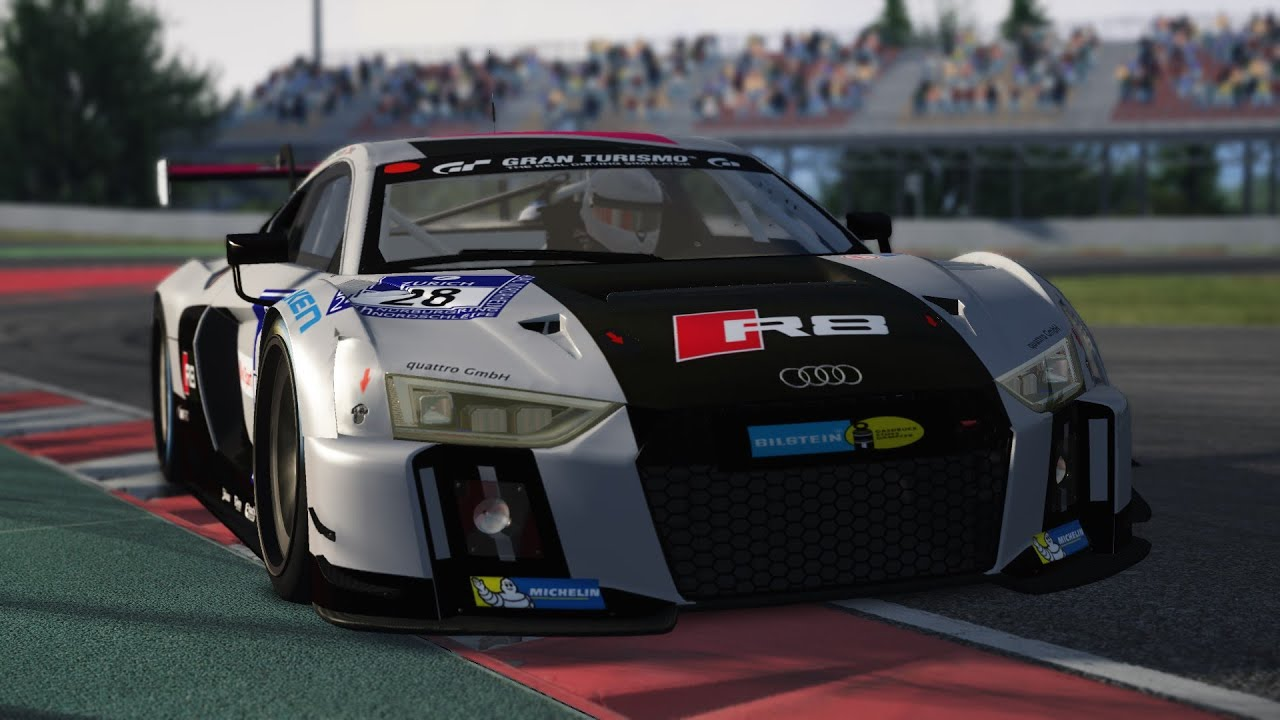 Assetto Corsa Audi R8 Lms 2016 Gt3 Youtube