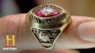Pawn Stars: 1989 San Francisco 49ers Super Bowl Ring (Season 4) | History