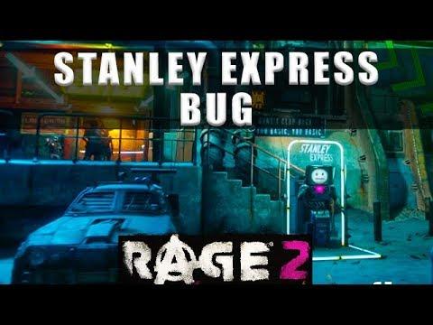 Rage 2 Stanley Express bug