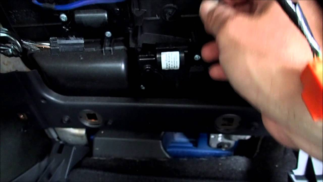 2009 Dodge Ram 1500 Blend Door Actuator Replacement Youtube