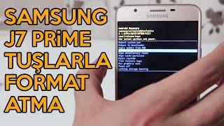 Samsung J7 Prime Tuşlarla Format Atma | Telefonu Sıfırla