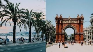 EUROPE TRAVEL DIARY: BARCELONA, SPAIN + NICE, FRANCE! (2018)