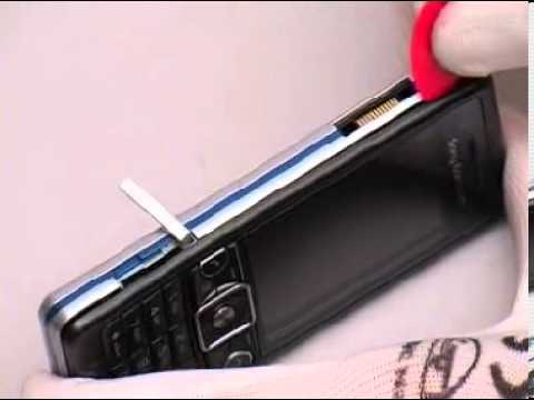Disassemble Sony Ericsson C510