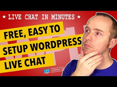 Setup Wordpress Live Chat For Free Using The Tidio Live Chat Service