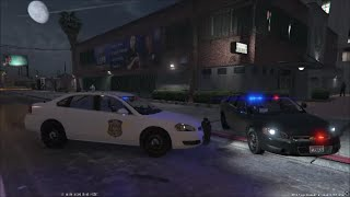GTA 5 LSPDFR Police Mod | City Patrol | Drugs & Chases | 2014 CHEVROLET IMPALA PPV By Bxbugs123