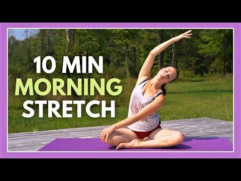 10 min Gentle Morning Yoga for Beginners